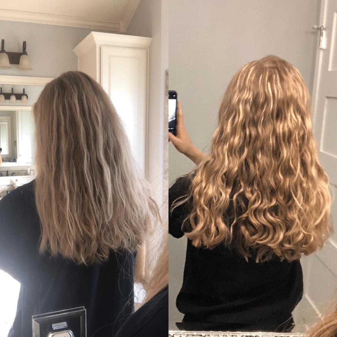 curly hair coaching transformation